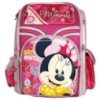 当当自营富乐梦 Disney迪士尼 小学生书包 米妮儿童减负书包 桃 CL-M0384H