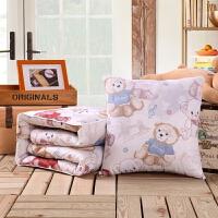 【送女友/送闺蜜的礼物】卡通午睡枕头被子汽车抱枕被子两用靠垫被空调被靠枕毯子