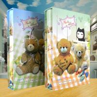 儿童宝宝家庭相册 插页式4R 6寸300张记事影集相簿 大容量相本