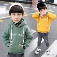 男童连帽卫衣春秋款中小童洋气潮衣儿童秋冬上衣