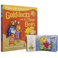 Pop-Up Goldilocks and the Three Bears 金发女孩和小熊 幼儿立体童话故事绘本 3~