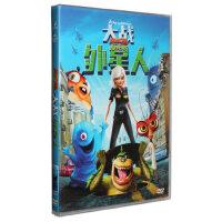 正版卡通电影动画片大战外星人DVD派拉蒙附精彩花絮DVD9