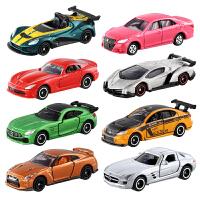 合金车模型小汽车玩具男孩TOMICA跑车GTR兰博基尼奔驰