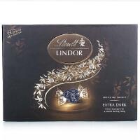 [当当自营] 意大利进口 瑞士莲 软心特浓黑巧克力 14粒装礼盒168g