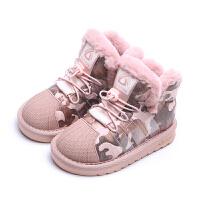 女童棉鞋加绒保暖儿童男童