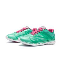 361度女鞋无缝网面运动鞋透气运动361冬跑步鞋