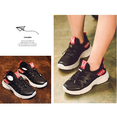 童鞋女童运动鞋鞋子男童鞋女童鞋休闲网面网鞋