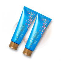 [2支装] 韩国LG 金丝燕窝润膏 蓝色 洗发水护发素二合一 滋养无硅油250ml/支