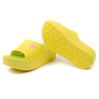 厚底时尚外穿耐穿拖鞋女夏室内一字松糕坡跟凉轻浴室拖鞋