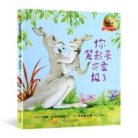 你笑起来可爱极了 猜猜我有多爱你绘本作者新作 硬皮硬壳精装绘本 幼儿儿童绘本故事书0-3-6岁正版幼儿园绘本故事书 亲