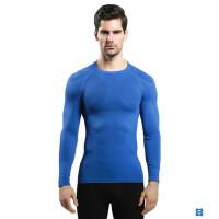 男士运动紧身衣轻压塑身长袖塑型内衣吸汗透气跑步健身穿