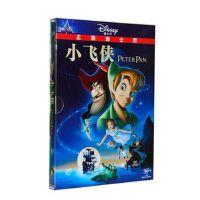 原装正版 迪士尼 卡通动画 小飞侠 DVD9 中英双语 儿童动画电影 视频 光盘
