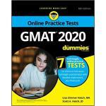 【预订】Gmat For Dummies 2020: Book + 7 Practice Tests Online +