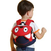 宝宝背包1-3岁可爱男孩女童防走失丢带牵引绳婴幼儿小书包 小调皮狗(现货) 1-5岁