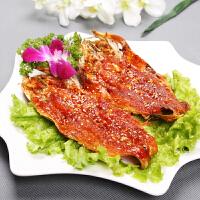 图旺达 辣鱼 延边风味小吃鳕鱼干整条休闲零食 两袋装
