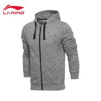 李宁卫衣男士2017新款篮球系列开衫长袖外套运动服AWDM033