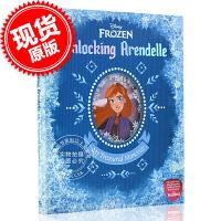 现货 冰雪奇缘2 英文原版绘本 打开阿伦黛尔:我的珍贵记忆 迪斯尼绘本 暗影森林 Disney Frozen:Unlo