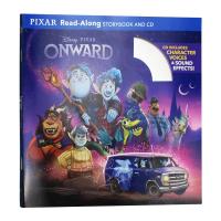 迪士尼独立阅读系列 觅法奇程 Onward Read Along Storybook 英文原版
