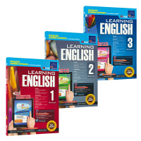 SAP Learning English Workbook 1-3 学习系列小学英语3册练习册套装 7-10岁 一二三