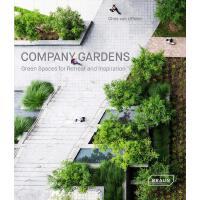 正版 Company Gardens: Green Spaces for Retreat & Inspiration 公