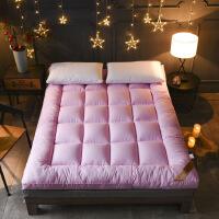 加厚10公分羽丝绒床垫榻榻米酒店单双人折叠保暖床褥子