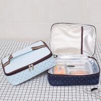 保温饭盒袋手提包便当包保温袋铝箔加厚大号带饭手提袋饭包饭盒包