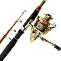 金刚海竿套装海钓竿远投竿超硬海杆碳素抛竿钓鱼竿 支持礼品卡支付