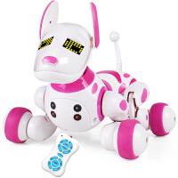 智能机器狗机器人遥控玩具可充电 儿童电动玩具狗宠物狗会跳舞机械狗男孩女孩玩具儿童生日礼物
