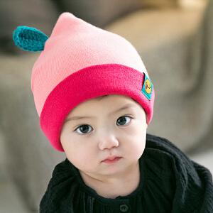 【支持礼品卡】Yinbeler儿童帽可爱萌系水果造型针织婴儿毛线帽