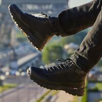 【品牌特惠】诺诗兰19新款户外男运动休闲徒步登山鞋中帮旅行防滑透气FB085508