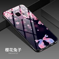 镜面高档三星s9plus手机壳S9 PLUS钢化玻璃壳保护套SM-G9650防摔女外壳网