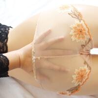 内裤女 蕾丝面料 女生性感诱惑 提臀翘臀 无痕全透明超薄