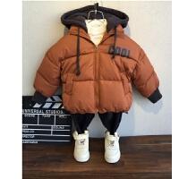 童装男童冬装棉衣儿童面包服男孩宝宝棉袄外套