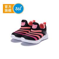 【折后叠券预估价:61】361度童鞋 女童跑鞋 小童 2020年冬季新品毛毛虫运动鞋跑鞋
