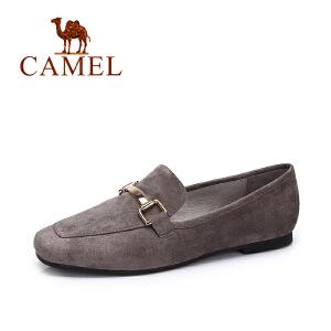 Camel/骆驼秋季新款韩版简约单鞋女 时尚百搭舒适浅口单鞋