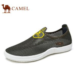 camel骆驼男鞋  春季新品 透气舒适低帮鞋户外休闲网布鞋