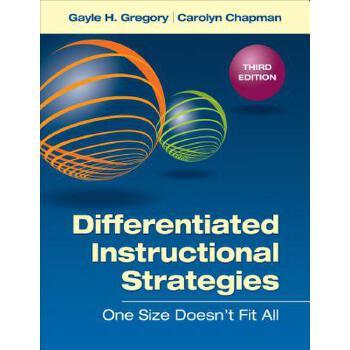 【预订】Differentiated Instructional Strategies: One Size Doesn't Fit All 预订商品,需要1-3个月发货,非质量问题不接受退换货。