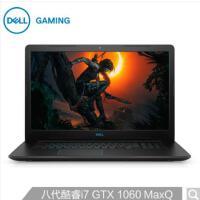 戴尔DELL游匣G3 Ins 17PR-2765B 17.3英寸游戏笔记本电脑(i7-8750H 8G 128G+1T
