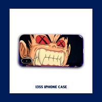潮牌动漫七龙珠苹果XS手机壳动漫悟空iPhone6/7/8plus保护壳Max男 小7/8 愤怒悟空【蓝光】
