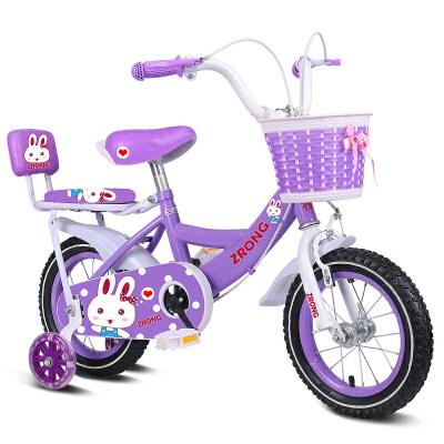 儿童自行车2-5-6-7-8-9-10岁女孩小孩脚踏单车宝宝女童车公主款