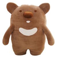 毛绒玩具玩偶考拉抱枕公仔懒人抱着睡觉可爱猪猪女孩生日礼物娃娃
