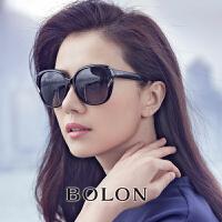 暴龙太阳镜女 高清偏光墨镜时尚圆脸大框太阳镜BL2511