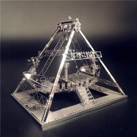 拼图3D立体金属维京海盗船 diy手工拼装模型玩具礼物 维京海盗船+送工具