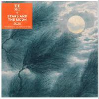 【现货】英文原版 大都会艺术博物馆 2020年挂历:星与月 新年日历 进口礼品书 Stars and the Moon