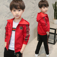 童装男童秋季套装儿童运动三件套男孩衣服春秋装潮衣