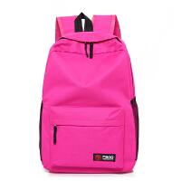 帆布双肩包女韩版学院风初中学生书包新款高中生大容量旅行背包潮