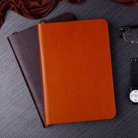A5创意日记本活页夹商务拉链活页记事本子笔记本文具