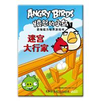 愤怒的小鸟思维能力培养游戏书――迷宫大行家