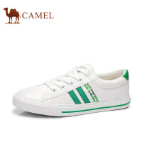 骆驼女鞋 2017帆布鞋女学生韩版小白鞋休闲板鞋运动鞋