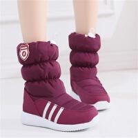东北大棉鞋冬季户外雪地靴女短筒加厚加绒保暖棉靴防水短靴女鞋
